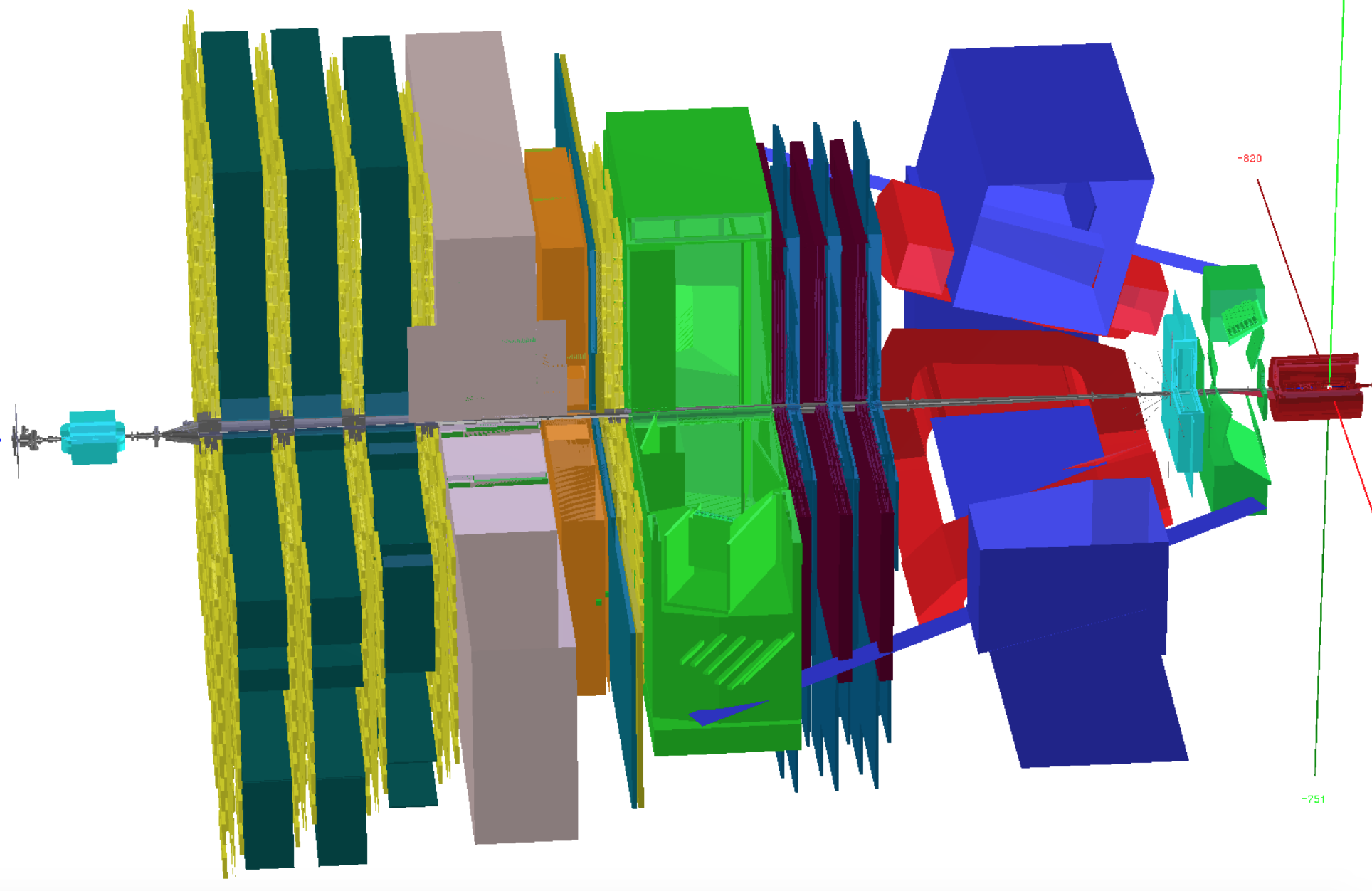 Visualisation of the LHCb detector in DD4hep